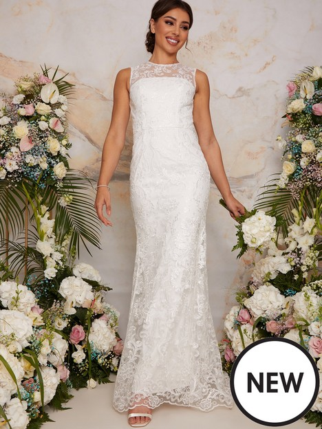 chi-chi-london-sleeveless-premium-lace-wedding-dress-white