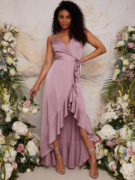 chi-chi-london-ruffle-detail-wrap-bridesmaid-dress-lilac