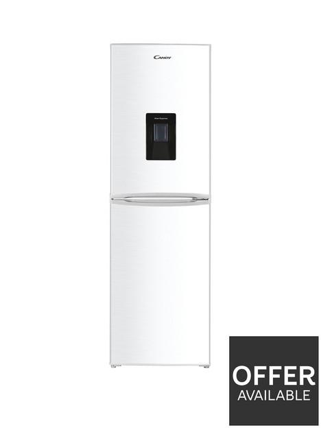 candy-chcs-517fwwdk-55cm-widenbsp5050-fridge-freezer-with-water-dispenser-white