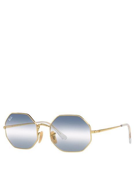 ray-ban-octagon-sunglasses-gold