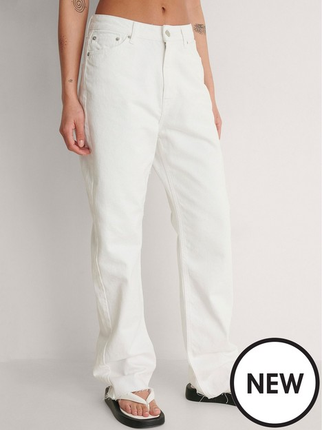 na-kd-straight-high-waist-raw-hem-jeans-white