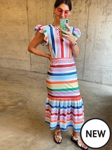 never-fully-dressed-suki-stripe-frida-dress-multi