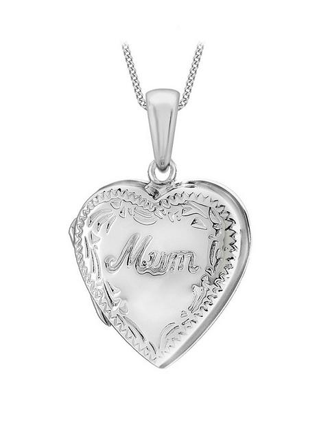 the-love-silver-collection-sterling-silver-20mm-x-28mm-mum-heart-locket