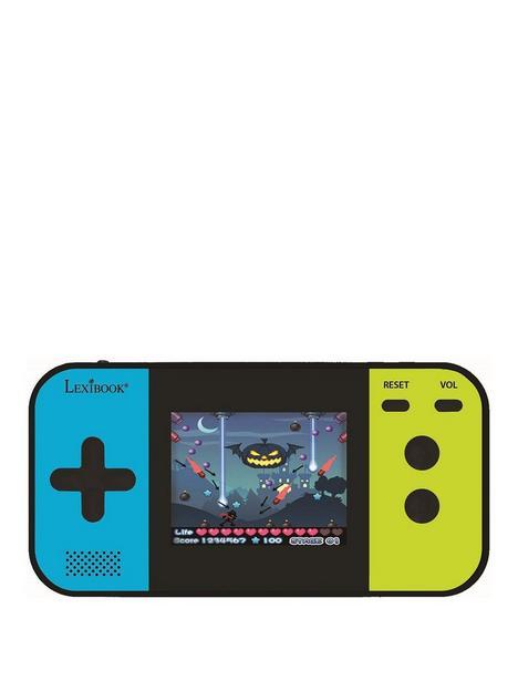 lexibook-handheld-console-compact-cyber-arcadereg-screen-25-250-games