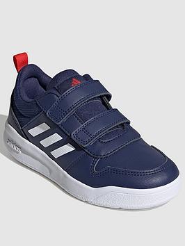 adidas-kids-unisex-tensaur-trainers-bluewhite