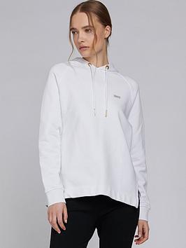 barbour-international-sugo-logo-hoodie-white