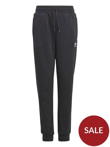adidas-originals-junior-unisex-pants-black-white