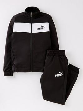 puma-boys-cuffed-leg-tracksuit-blacknbsp
