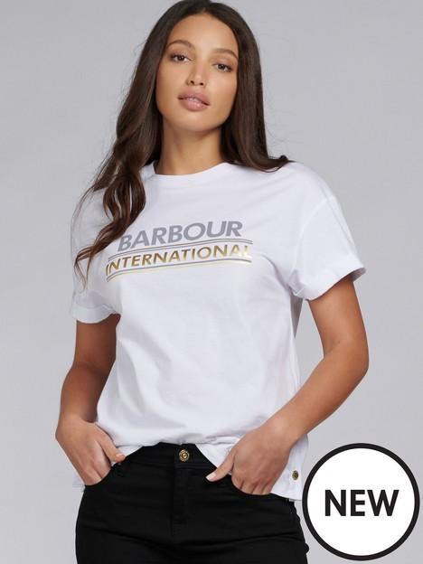 barbour-international-sitka-modal-mix-foil-logo-tee-white