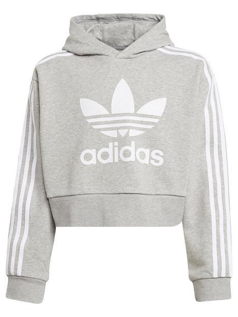 adidas-originals-junior-girls-cropped-hoodie-greywhite