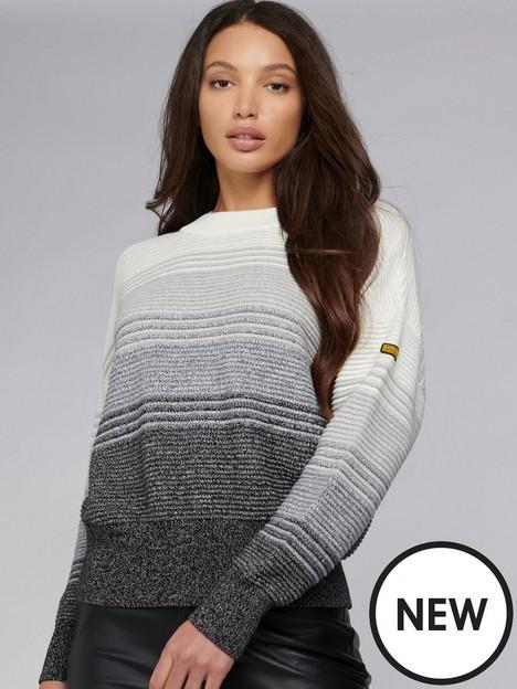 barbour-international-hallstatt-stripe-knitted-jumper--whiteblack