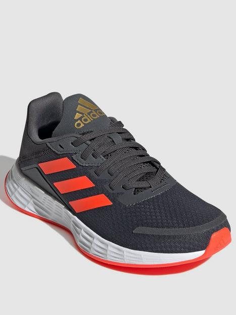adidas-kids-unisex-duramo-sl-trainers-greyred