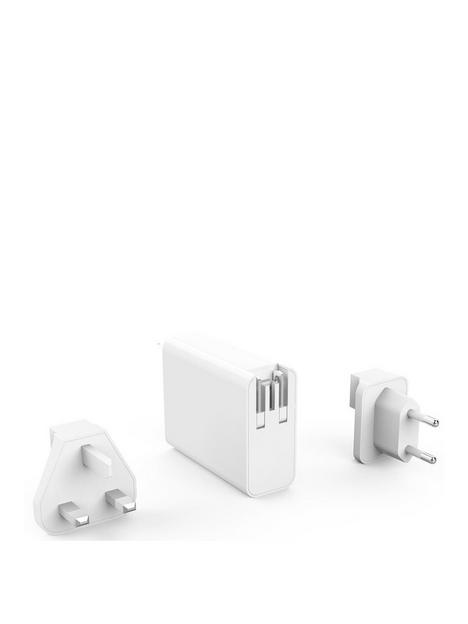 hyper-hyperjuice-100w-gan-charger-with-2xusb-c2xusb30-incl-travel-plugs