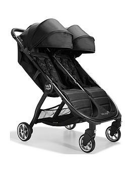 baby-jogger-city-tour-2-double-puschair-pitch-black