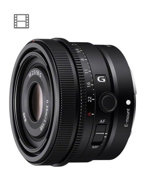 sony-sel50f25g-full-frame-lens-fe-50mm-f25-g-premium-g-series-prime-lens