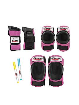 wipeout-protective-pad-set-neon-pink-age-5