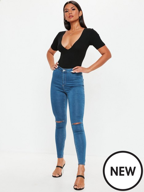 missguided-missguided-vice-highwaisted-slash-knee-skinny-jean