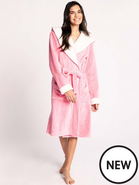 chelsea-peers-nycnbspfluffy-dressing-gown-pink