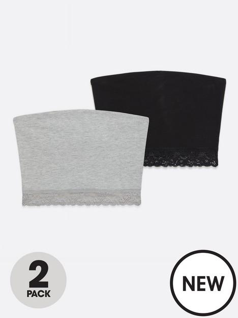 new-look-2pk-lace-trim-bandeau