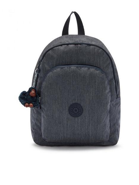 kipling-seoul-m-lite-backpack-navy