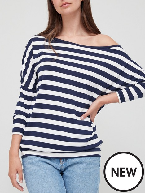 v-by-very-slouch-shoulder-long-sleeve-tee-stripe
