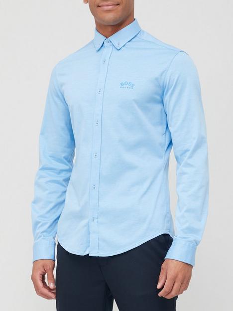 boss-biado_r-oxford-shirt-open-blue