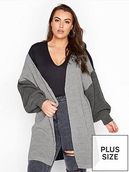 yours-grey-tonal-colour-block-oversize-c