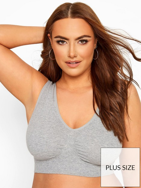 yours-grey-unpadded-seamless-bra