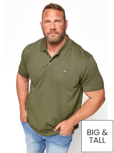 badrhino-essential-plain-polo-shirt-khaki