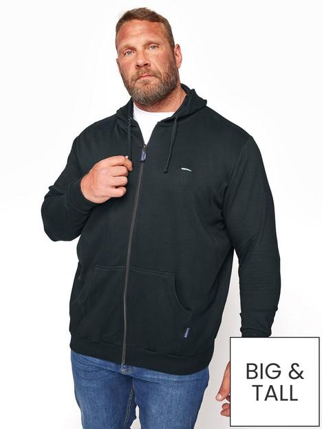badrhino-essential-zip-through-hoodienbsp--black