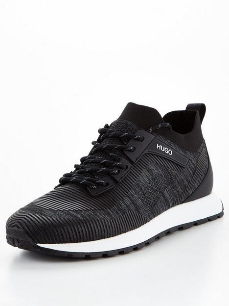 hugo-icelin-knit-runner-trainers-blacknbsp