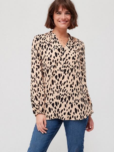 fig-basil-button-front-printed-shirt-animal