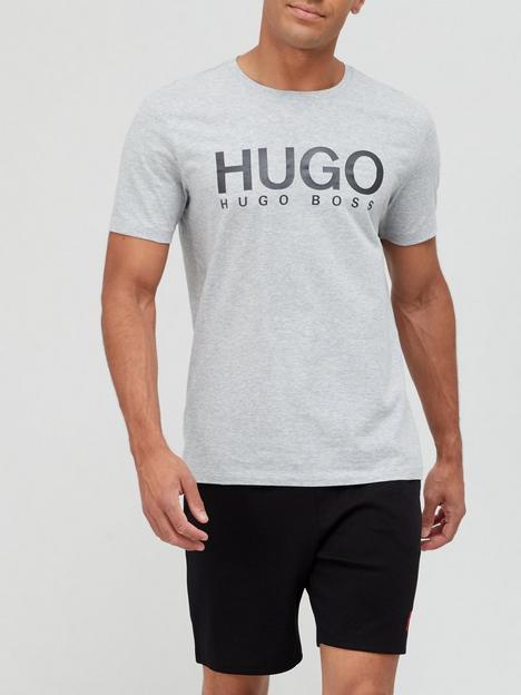 hugo-dolive-logo-t-shirt-greyblacknbsp