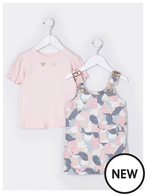 river-island-mini-mini-girls-camo-pinny-and-tshirt-pink