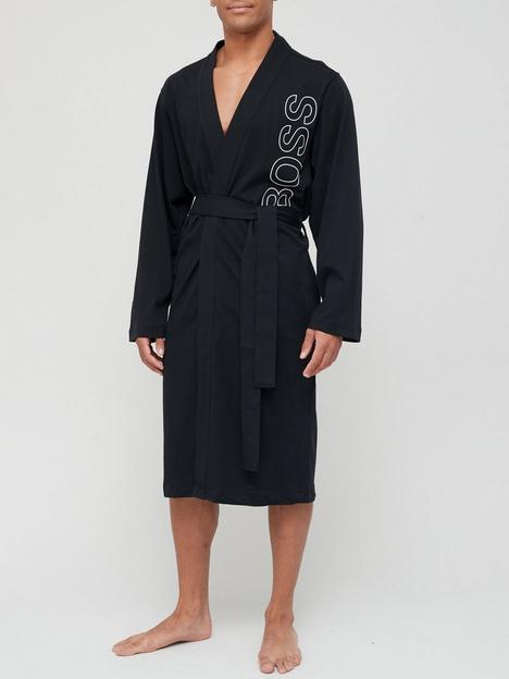 boss-bodywear-identity-dressing-gown-black