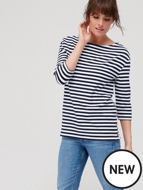 fig-basil-stripe-button-side-t-shirt-navywhitenbsp