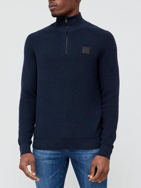 boss-knorsey-quarter-zip-knitted-jumper-dark-blue