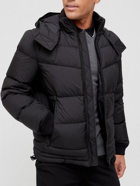 boss-out-padded-hooded-jacket-black