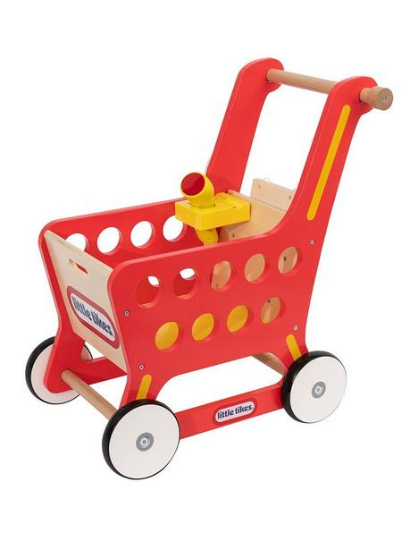 little-tikes-wooden-shopping-trolley