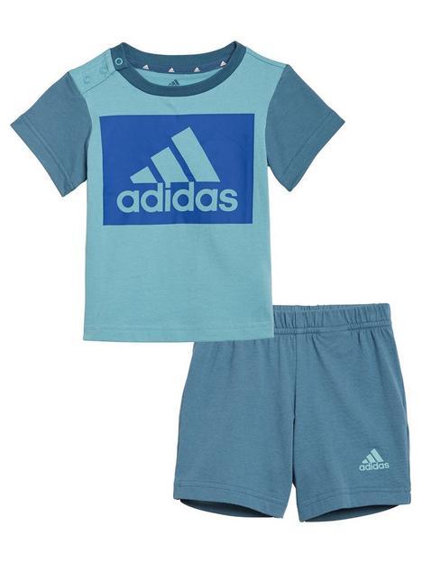 adidas-infant-unisexnbspt-shirt-set-blue