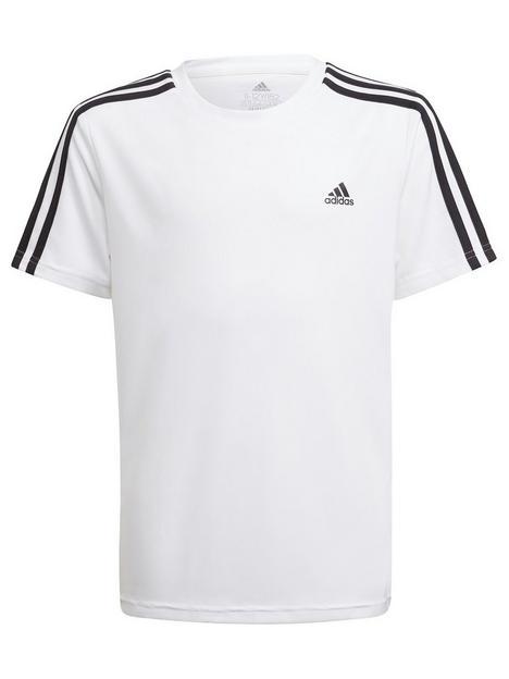 adidas-junior-boys-3-stripes-t-shirt-whiteblack