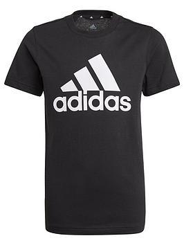 adidas-junior-boys-t-shirt-blackwhite