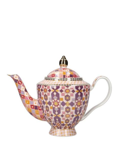 maxwell-williams-kasbah-porcelain-teapot-with-infuser-in-rose