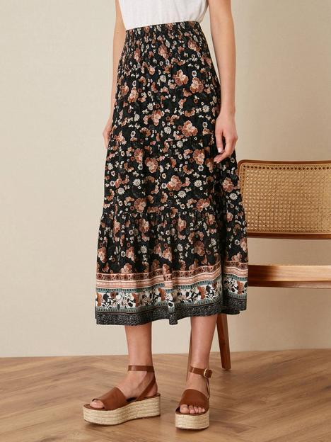 monsoon-monsoon-caprice-border-print-shirred-skirt