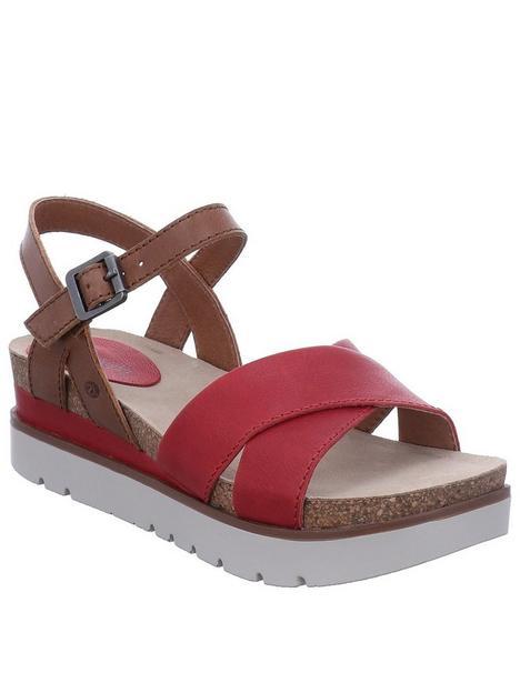josef-seibel-clea-10-wedge-sandals-rednbsp