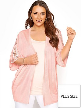 yours-yours-kimono-sleeve-cardigan--nbsppink