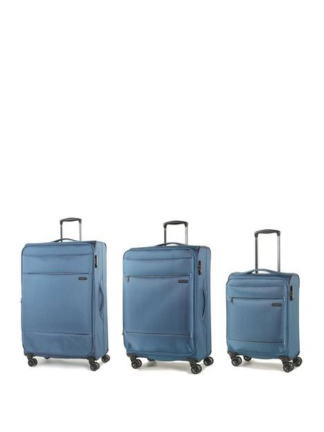 rock-luggage-deluxe-lite-8-wheel-suitcases-3-piece-set-teal
