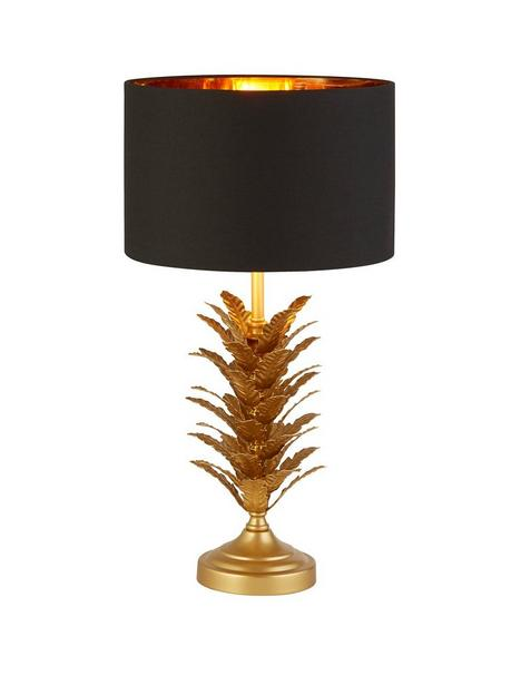 gold-leaf-table-lamp