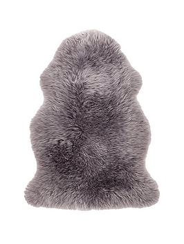 Very Genuine Sheepskin Wool Rug - Single Picture