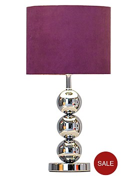 ingrid-faux-suede-3-ball-table-lamp-plum